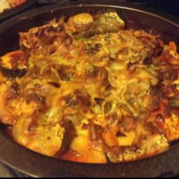 Ravioli and Tomato Bake