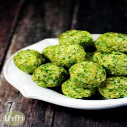 Raw Broccoli Balls