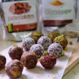 Raw Cacao Date Energy Balls Recipe