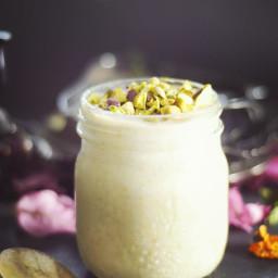 Raw Cherimoya Custard Pudding