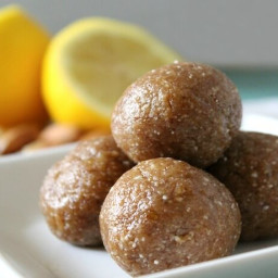 Raw Lemon Bites