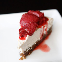 RAW Vanilla Bean Cheesecake