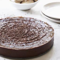 Raw Vegan Chocolate Espresso Torte