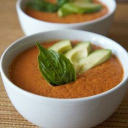 Raw Vegan Creamy Tomato Soup