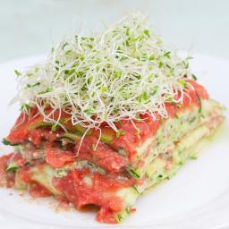 Raw Vegan Lasagna