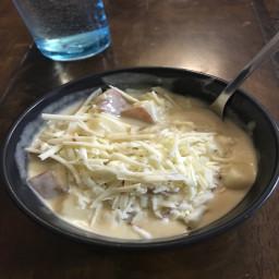 Ray's Cheesy Potato Soup Deluxe
