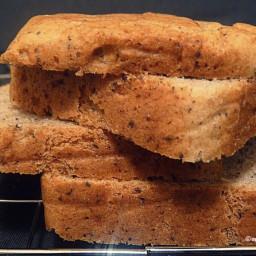 Raženi kruh s jogurtom i makom