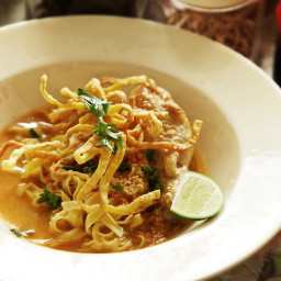 Real-Deal Khao Soi Gai (Northern Thai Coconut Curry Noodle Soup With Chicke