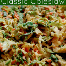 Real Food Summer Picnic Series :: Classic Coleslaw :: Grain Free, Egg Free,