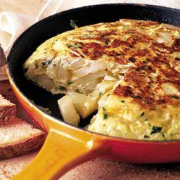 Real Spanish omelette