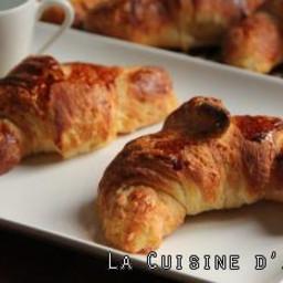 Recette Croissants façon boulangerie