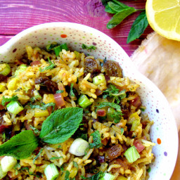 Moroccan Spiced Vegetable Rice
