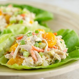 Recipe: Asian Chicken Salad Lettuce Wraps