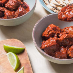 Recipe: Braised New Mexico-Style Pork in Red Chile Sauce (Carne Adovada)