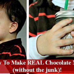 Recipe: Bubba's Real Chocolate Milk (Homemade Chocolate Syrup)