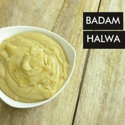 Recipe Card For Badam Cashew Halwa