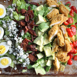 Recipe: Fried Chicken Cobb Salad.