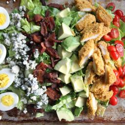 Recipe: Fried Chicken Cobb Salad.