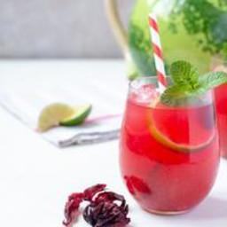 Recipe: Hibiscus & Watermelon Agua Fresca