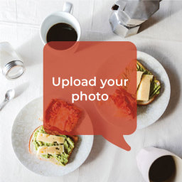 Onion bhajis, tarka dhal and almond ric