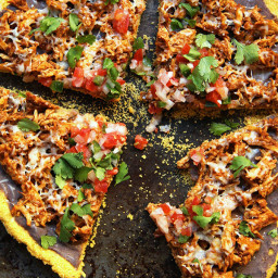 {Recipe Redux}: Healthy Chicken Tamale Pizza