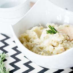 Recipe: Rosemary Garlic Potato and Parsnip Mash
