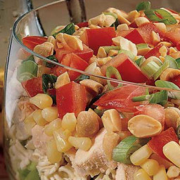 Recipe: Seven Layer Chinese Chicken Salad
