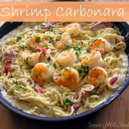 RECIPE: Shrimp Carbonara