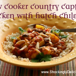 Recipe: Slow Cooker Country Captain Chicken with Hatch Chiles
