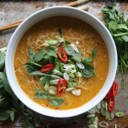 Recipe: Spicy Thai Curry Noodle Soup