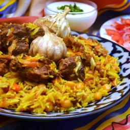 Recipe: The national dish of Uzbekistan - Tuy Palovi (Wedding plov)
