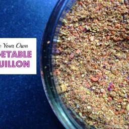 Recipe: Vegetable Bouillon (from your garden harvest)