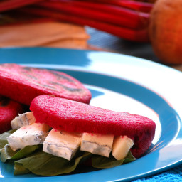 Red Beets Arepa