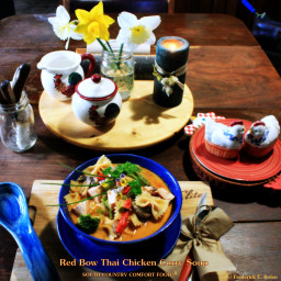 Red Bow Thai Chicken Curry Soup - South Country Food®