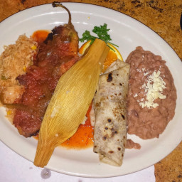 Red-Chile Pork Tamales