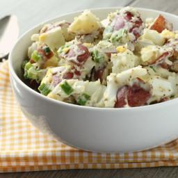 Red Hot and Blue Potato Salad - the Original
