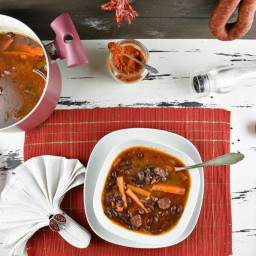 Red Kidney Bean Soup Recipe