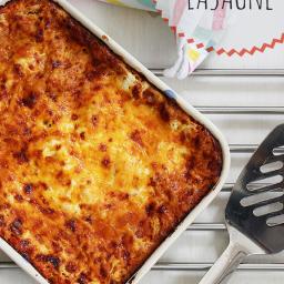 Red Lentil Lasagne