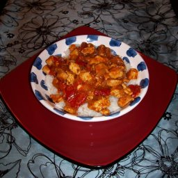 Red Pepper and Basil Chicken