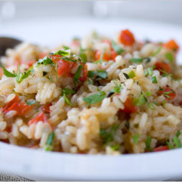 Red Pepper Risotto