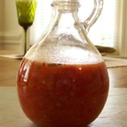 Red Pepper Vinaigrette