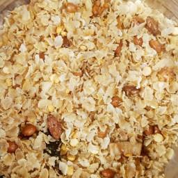 Red Poha Chivda (anytime snacks)