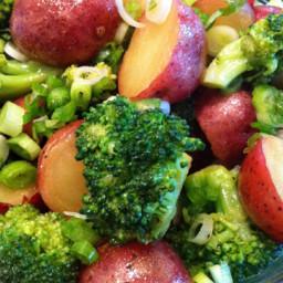 Red Potato Salad with Broccoli