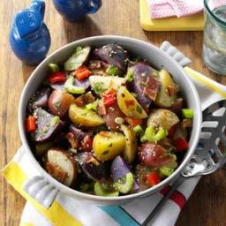 Red, White and Blue Potato Salad Recipe