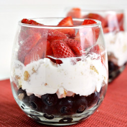 Red White and Blue Trifle Dessert Recipe