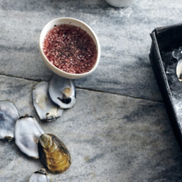 Red Wine Vinegar and Black Pepper Mignonette