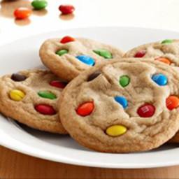 Reds M&M cookies