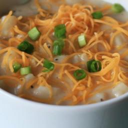 Reduced Fat Potato Soup