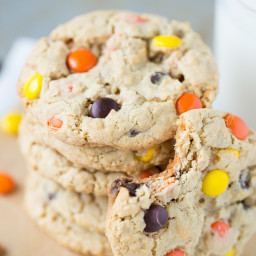 Reese's Pieces Chocolate Chip Cookies
