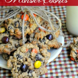 Reese's Pieces Monster Cookies